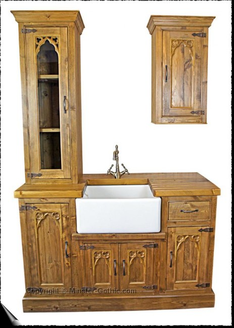 Minster Gochic Rustic Kitchen Ensemble. Click on this photo for a larger image.