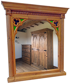 "Minster Gothic Classic ""McDonnel"" Wall Mirror"