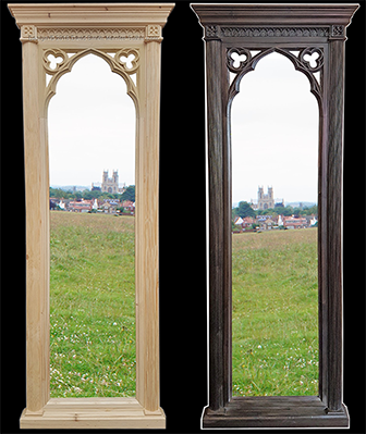 "Minster Gothic Classic ""Martin"" Tall Wall Mirror"