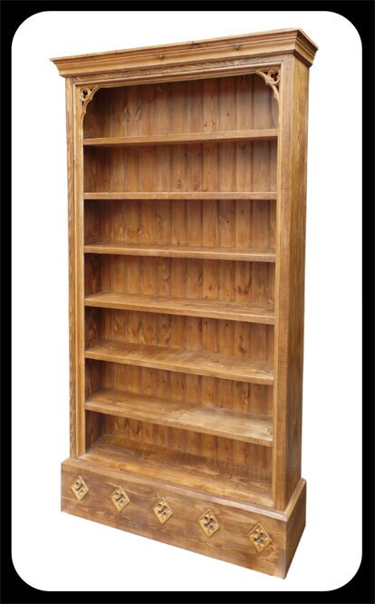 "Minster Gothic Classic DVD-""Bookcase"""