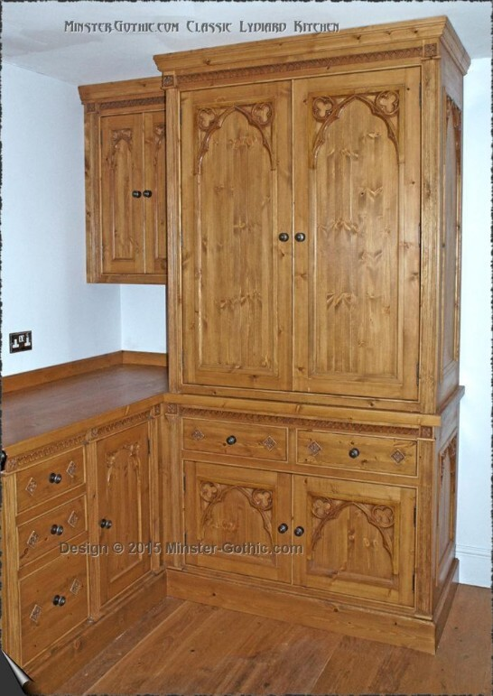 "Minster Gothic Classic ""Lydiard"" Kitchen"